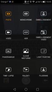 Interface Huawei P9 Plus