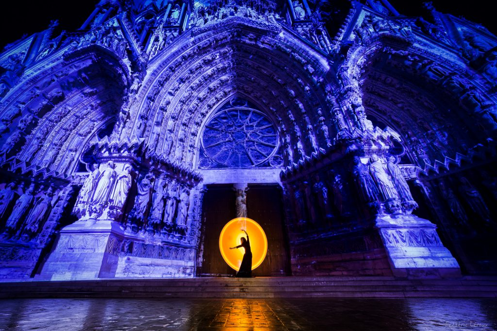 Light PAinting in Reims
