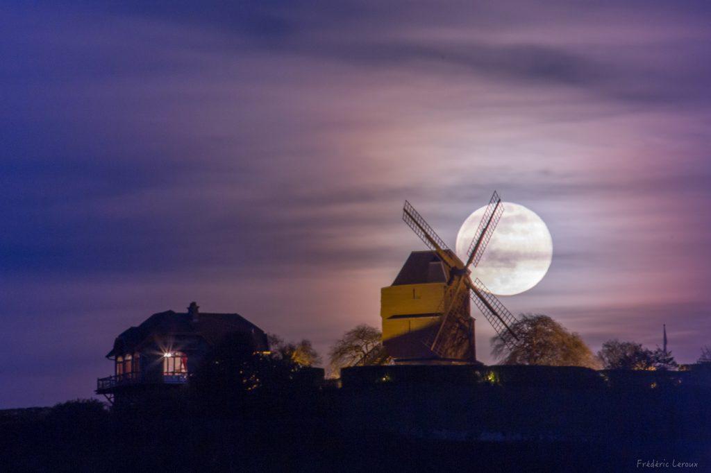 levée de pleine lune