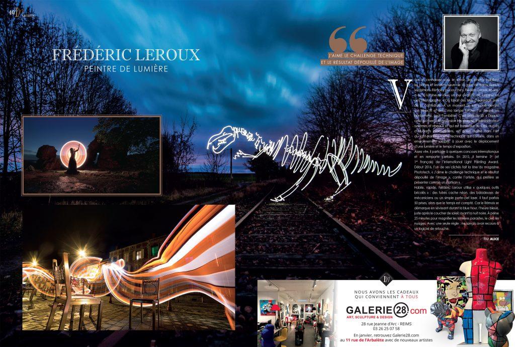 L'instant Rémois Frédéric Leroux Light Painting